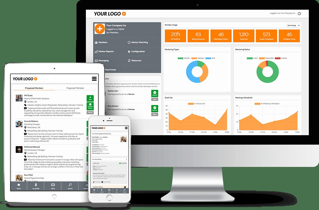 PushFar - Mentoring Platform